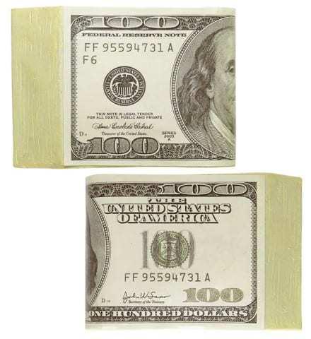 Liasse de 100 dollars