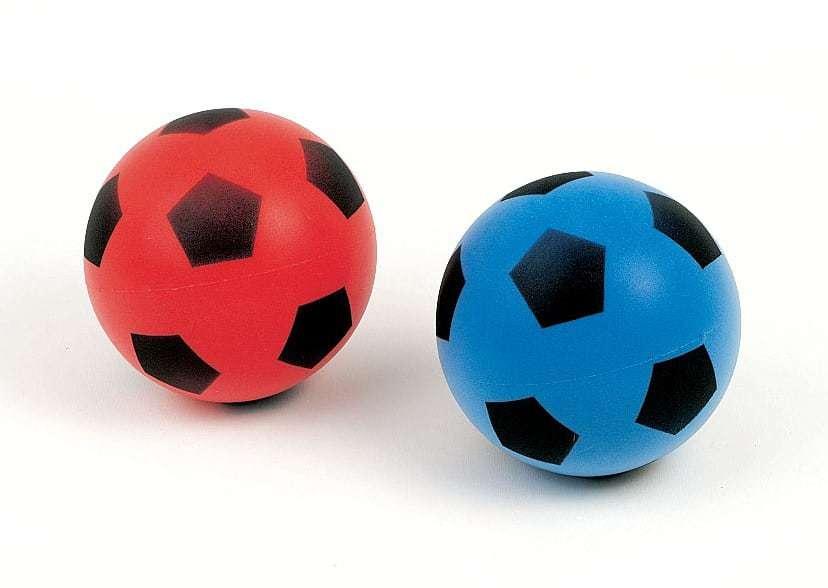 ballon de foot en mousse diam tre 12 cm ced. Black Bedroom Furniture Sets. Home Design Ideas