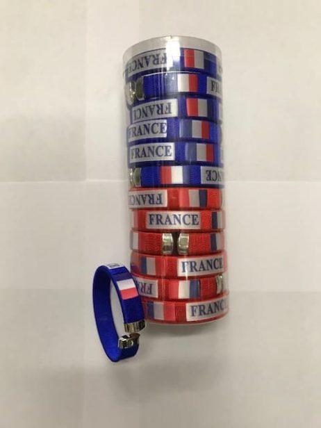 BRACELETS ALLEZ FRANCE (Supporter FRANCE BBR)