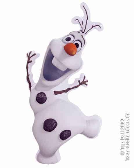 Olaf reine des neiges