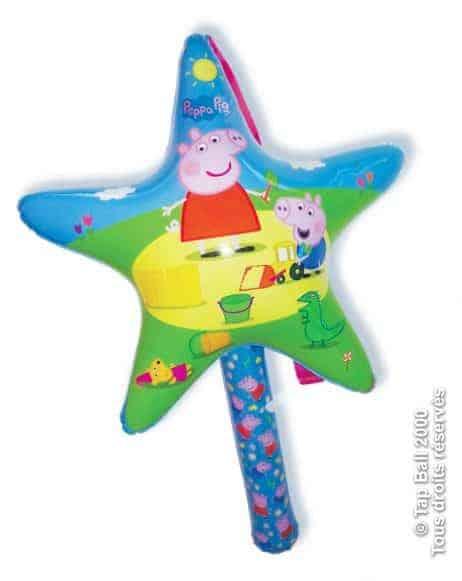 Baguette star Peppa Pig