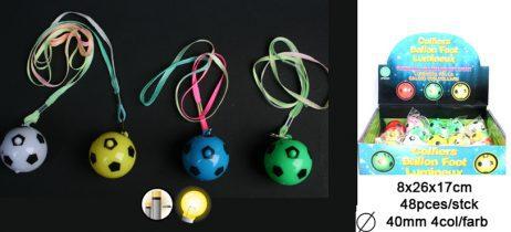 Collier ballon lumineux