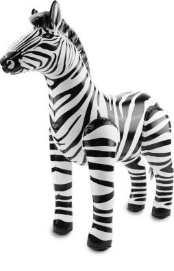 Zebre deco gonflable