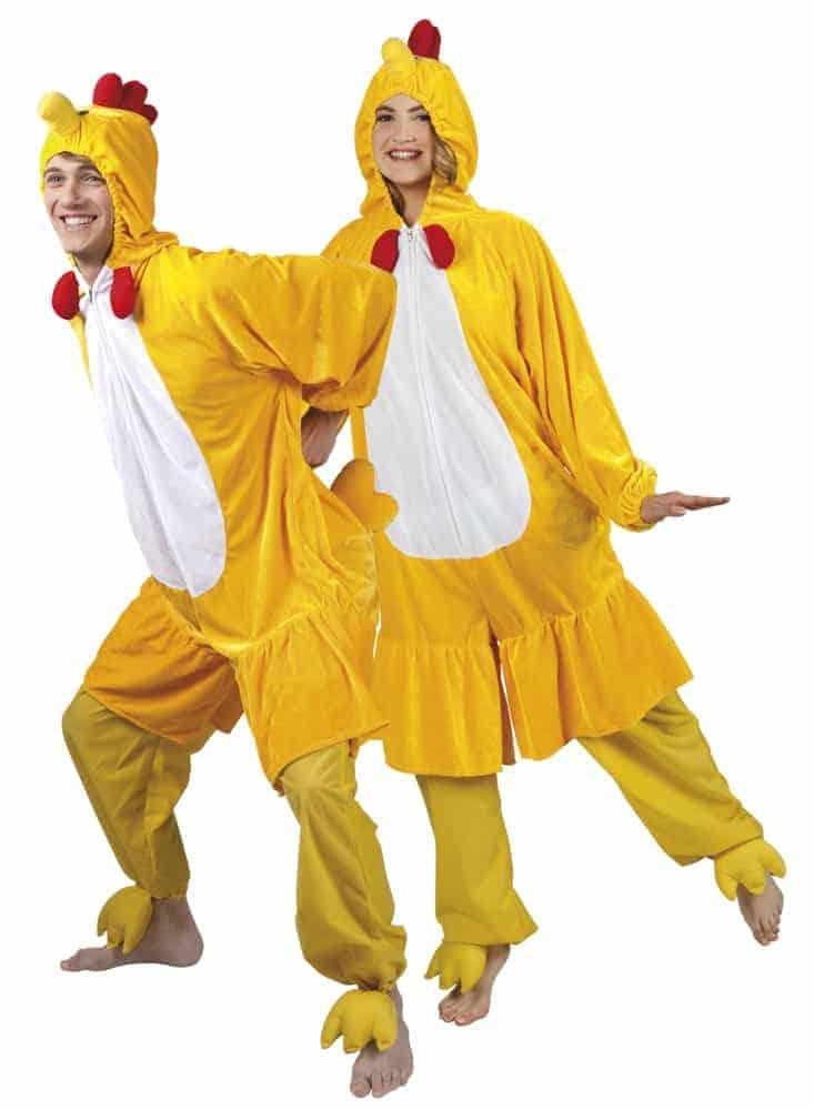 Deguisement De Poussin Kigurumi Pyjama Peluche Taille Adulte Ced