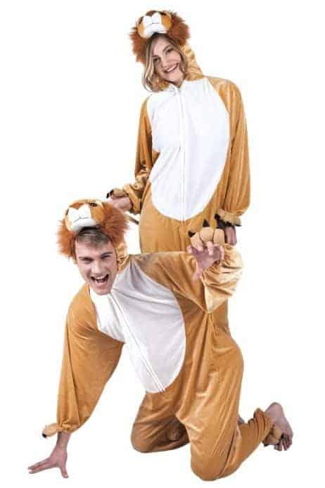 Pyjama adulte lion