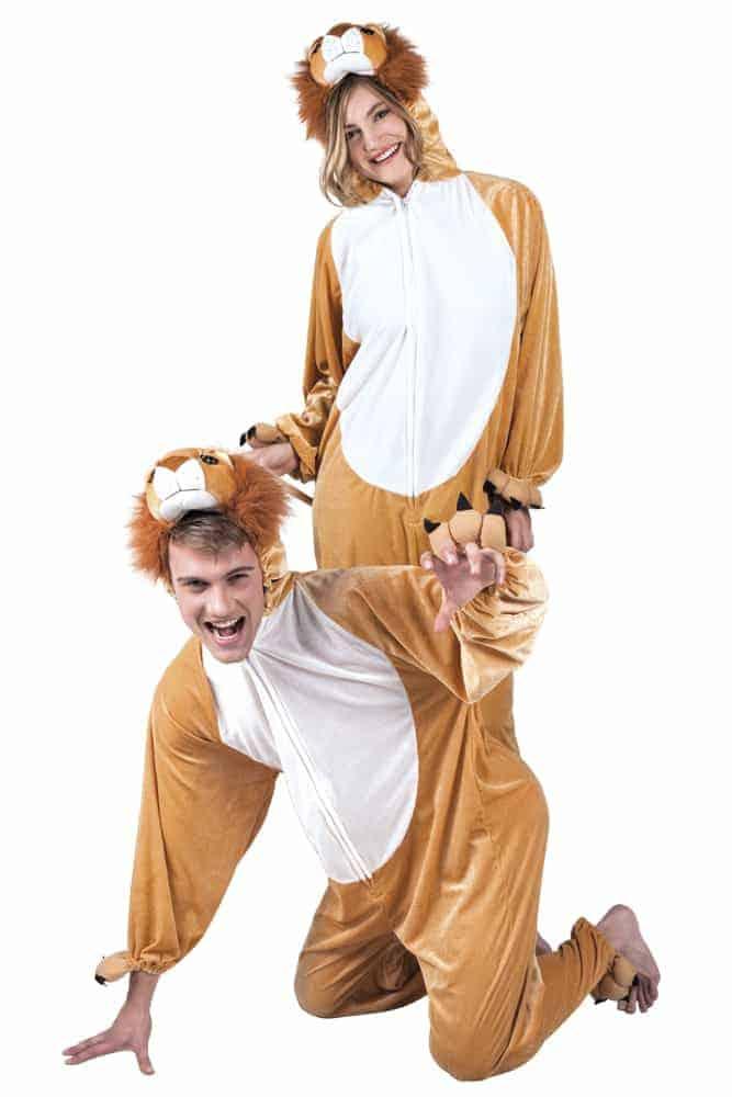 Deguisement De Lion Kigurumi Pyjama Peluche Taille Adulte Ced