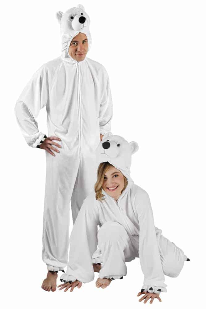180 DÉGUISEMENT OURS pelucheTaille adulte BLANCKigurumi pyjama cm n80OwPk