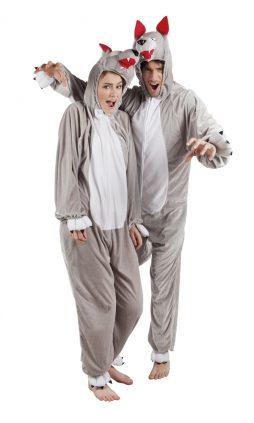 Pyjama adulte loup