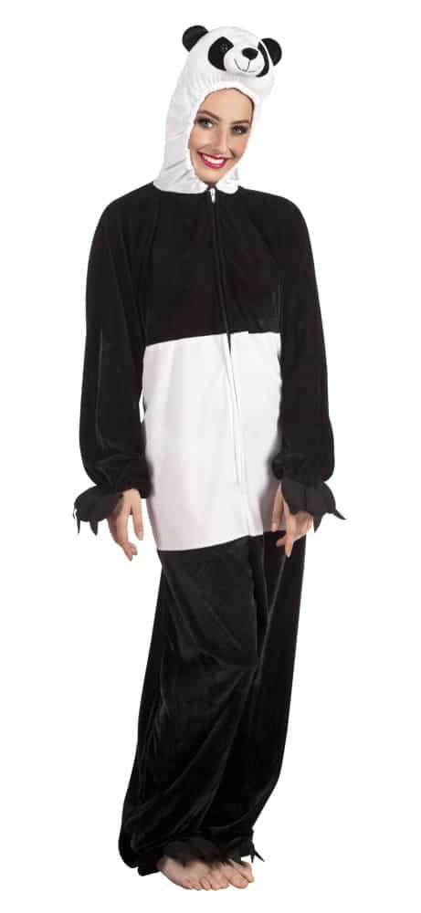 DÉGUISEMENT DE PANDA (Kigurumi pyjama peluche) Taille adulte