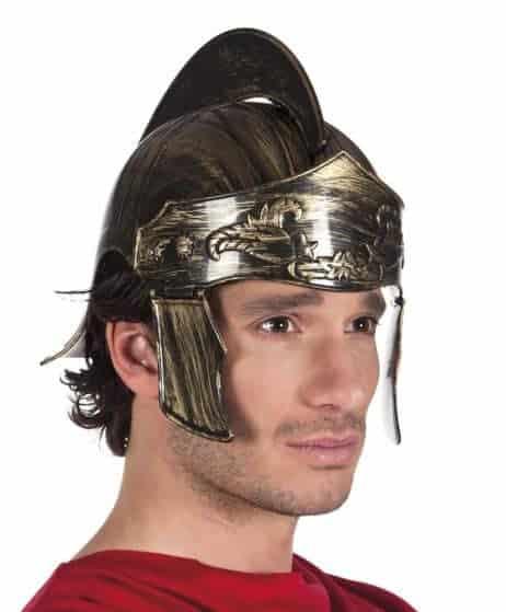 CASQUE DE SOLDAT ROMAIN (Casque rigide et gravé) Epoque Rome Antique