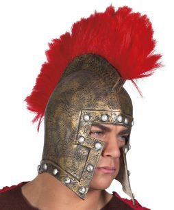Casque soldat romain