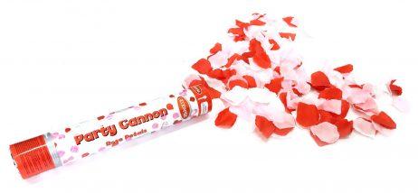 CANON A CONFETTIS (Confettis Pétales de roses) Tube 30 cm