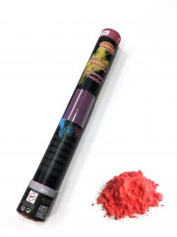 Tube 40 cm poudre rouge holi