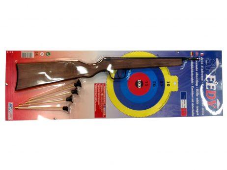 Fusil en bois flechettes