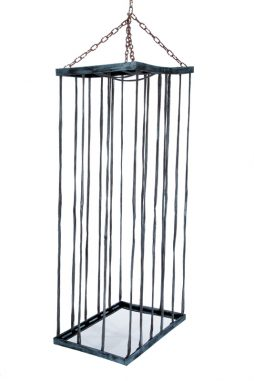 Cage prisonnier halloween