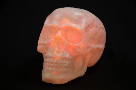 Tete de mort déco halloween