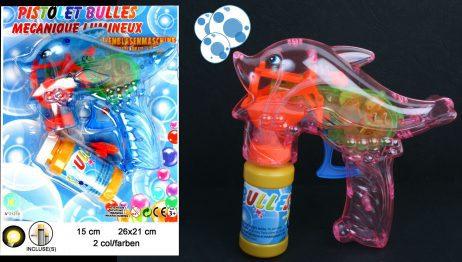 Pistolet dauphin a bulles