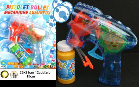 Pistolet bulles savon