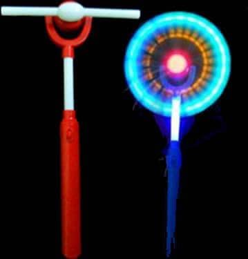 Baton Lumineux eolienne