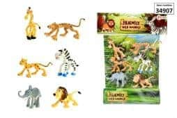 Animaux rigolos jungle