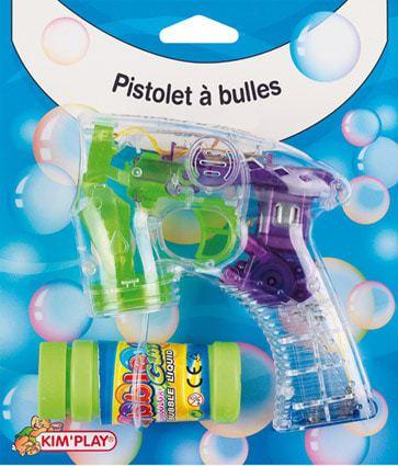 Pistolet a bulles enfant