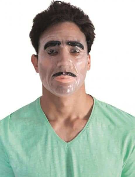 MASQUE - TRANSPARENT (Moustache et sourcils)