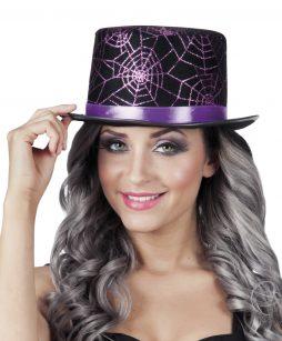 Chapeau haut de forme spider