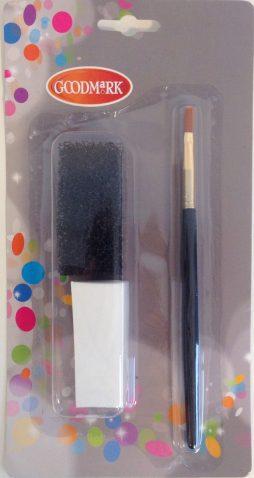 Kit maquillage noir et blanc