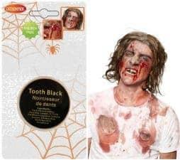 Noir à dent de zombie