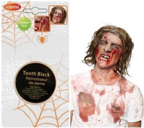 COFFRET NOIR A DENT (Maquillage Halloween)