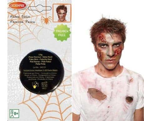 Fausse peau zombie