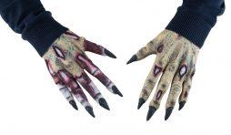 Mains caoutchouc zombie