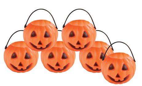 MINI POTS CITROUILLES (Pots à bonbons Halloween)