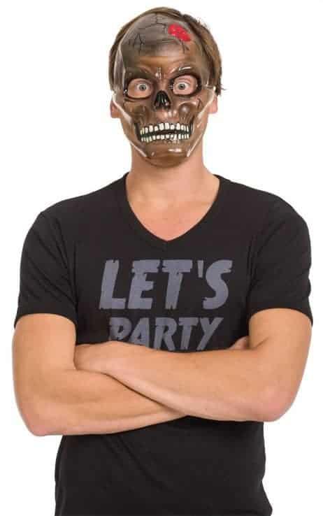 Masque transparent horreur