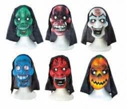 Lot masques Halloween