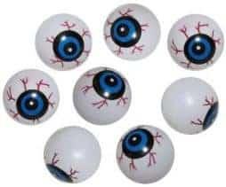 Sachet de 8 yeux plastiques