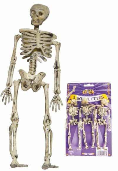 Pack squelettes 15 cm