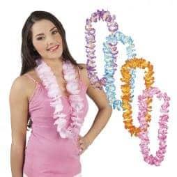Colliers de fleurs assortis