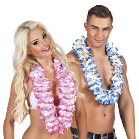 Collier à fleurs Hawai