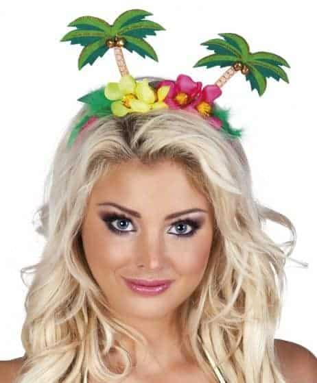 Serre tete fleurs palmiers