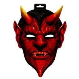 Masque géant du diable