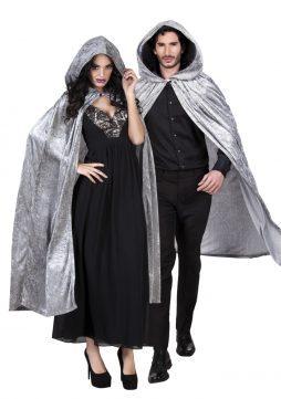 Cape vampire grise velours