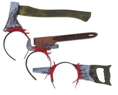 Serre tête outils sanglants