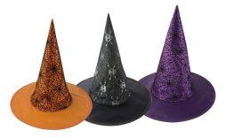 Chapeau pointu 3 coloris