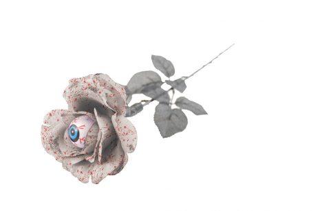 Rose blanche 50 cm