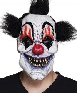Masque clown malefique