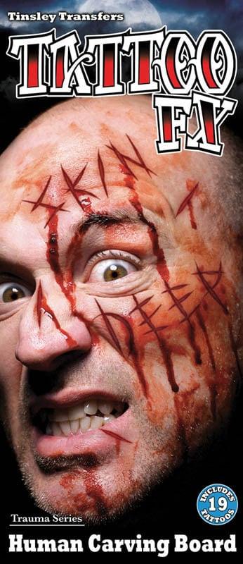 FX TATTOO ENTAILLES (Tatouage sur visage)