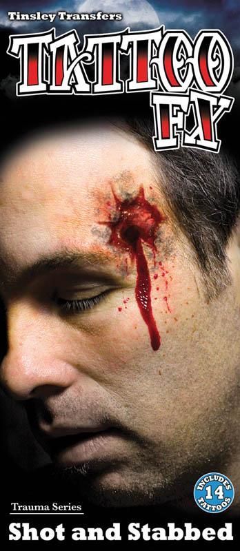 FX TATTOO IMPACT BALLE (Tatouage sur visage)