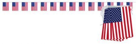 Guirlande USA 5 mètres