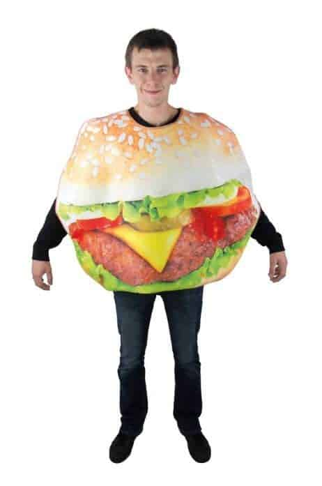 COSTUME HAMBURGER (Déguisement Adulte)